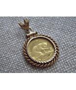 24k 1999 Isle Of Man Crown Gold Coin British Bl... - $199.99