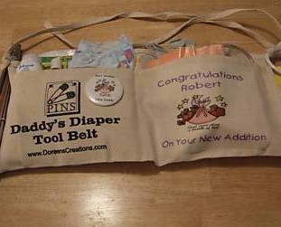 dADDY DIAPER TOOLBELT FREE SHIPPING