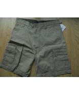 Men JG Hook Khaki Shorts 6 Pockets Velcro back ... - $19.99