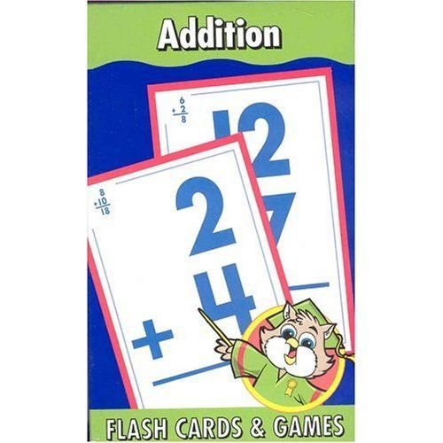 ADDITION, HOME LEARNING TOOLS FLASH CARDS & GAMES