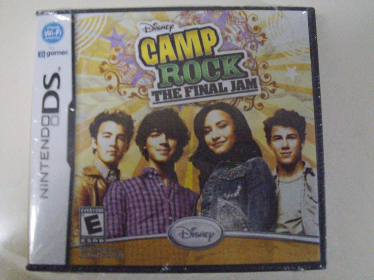 Disney Camp Rock The Final Jam Nintendo DS, DSi XL 3DS Jonas Brothers - New