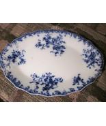 Grindley Flow Blue China Platter England - 8.5 ... - $79.99