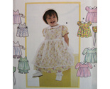 Buy Simplicity 8538 New Toddler Girl NB to L Party Dress Wedding