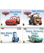 Cars 2  Custom Cake Topper  Frosting Sheet - $7.99