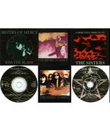 Sisters of Mercy 6 CDs + Bonus Rarities Kiss Th... - $25.00