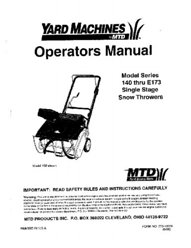Contents contributed and discussions participated by debbie champa mtd snow thrower owners manual fandeluxe Image collections