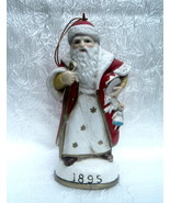 Christmas Eve Inc Santa Claus Figurine Ornament 1895 Memories of Santa - $18.99