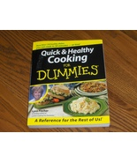 Quick & Healthy Cooking For Dummies - $12.95