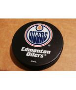 NHL Edmonton Oilers LOGO OFFICIAL HOCKEY PUCK S... - $7.76