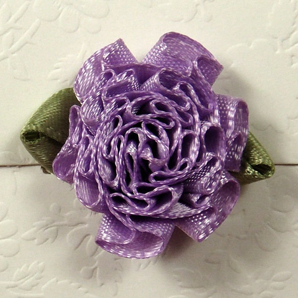 Purple Carnation Florets Embellishment