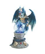 Dragon Figurine armored LED light mystical glow... - $18.95