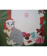 For Cat Lovers - Photo Insert Christmas Greetin... - $9.88