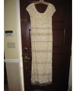 Dazzling NAEEM KHAN Beaded Sequin Dress $5590 - $1,500.00