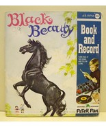 Black Beauty Vintage Childrens Book with 45 Rec... - $5.88