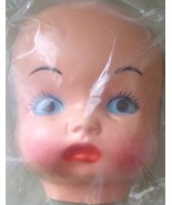 Plastic Blue Eyed Doll Face - Doll Parts - Doll... - $3.88