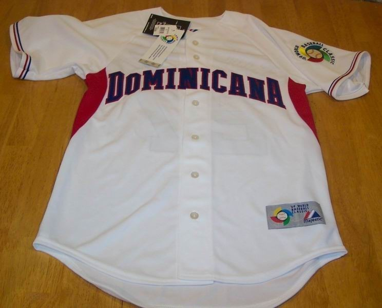 DOMINICAN REPUBLIC  BASEBALL GUERRERO JERSEY SMALL NEW