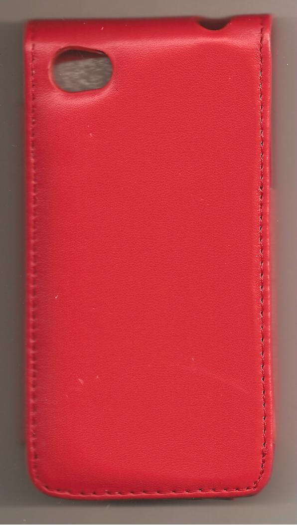 Leather Case  Cover Pouch for Apple  IPhone 4 4G  Red