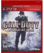 Call of Duty: World at War, PS3 game - $33.50