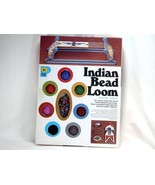 Indian Bead Loom with beads Pastime Vintage Plastic Loom Unused
