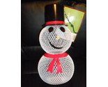 "Buy Mr Snowman Bird Feeder Outdoor Yard Decoration 12"" NEW"