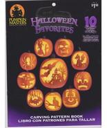 Pumpkin Masters Pumpkin Carving Stencil Pattern Book New - $3.99