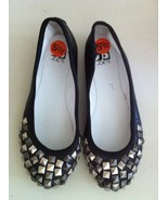 Joes Jeans ballet flats studded shoes leather $... - $30.00