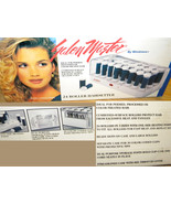SALON MASTER Windmere 24 Hot Heated Rollers Hair setter FAST - $9.99