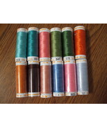 Mettler Cotton Embroidery Thread 30 wt. Set C  - $33.50