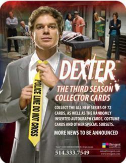 DEXTER SEASON 3 Factory Sealed Hobby Box, NEW!