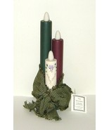 Handcrafted Wooden Glow in the Dark Candles wit... - $9.00