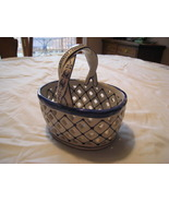 Porcelain Weave Lovely Basket - $2.50