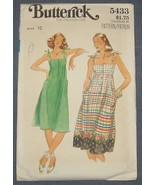 Butterick sewing pattern 5433 - Misses Dress - ... - $4.00