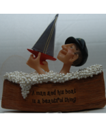 Sailor in Boat filled with Bubble Bath Boat Fig... - $13.00