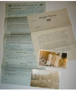 1915 Ford Touring Car Bill of Sale; Letter & Ph... - $15.95