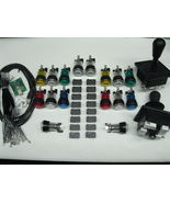 Arcade LED MAME 2 Player USB Kit w/ 2 Joysticks... - $75.00