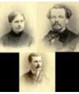 Charles Coe Family - w/parents? (3-photo set) P... - $29.00