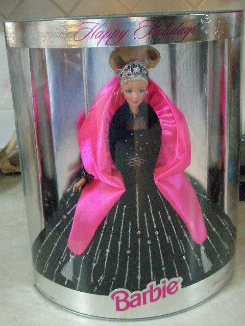 old unopened holiday barbie