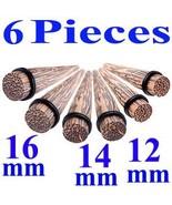 ear tapers stretchers plugs kit 1/2,9/16,5/8 ga... - $50.40