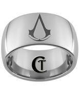 12mm Dome Tungsten Carbide Assassin's Creed Las... - $49.00