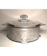 Vintage 1940s Hammered Aluminum Casserole Veget... - $28.00