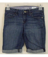 Girls Gap Kids Denim Blue Jean Shorts Size 8 - $6.50