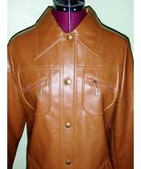 Cool Women's 70's Vintage Mod Vinyl Jacket Fing... - $28.00