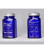 Blue Square Salt and Pepper Shakers - $14.99
