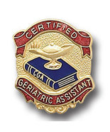 Certified Geriatric Assistant Medical Lapel Pin... - $9.97