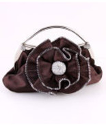 HB2031-BRW Brown Evening Bag   - $25.00