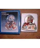 CHRISTMAS MUSICAL WATERGLOBE SANTA WE WISH YOU ... - $14.99