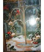Large Centerpiece Table Christmas Tree Star Can... - $14.99
