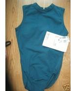 Girls MOTIONWEAR Dancewear Leotard Teal Blue Ba... - $9.99