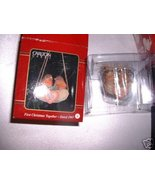 FIRST CHRISTMAS TOGETHER 1997 CARLTON ORNAMENT ... - $9.99
