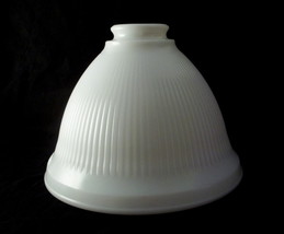 Torchiere Glass Lamp Shades on Vintage Milk Glass Torchiere Lamp Shade White Ribbed   Lamp Shades